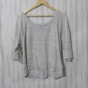 M We The Free Oversize Thermal Top